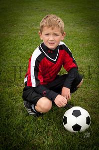 Bluffton Warriors U-8 Fall 2011 (1 of 10)