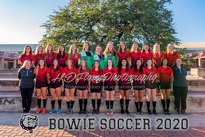 Bowie Girls Soccer 2020