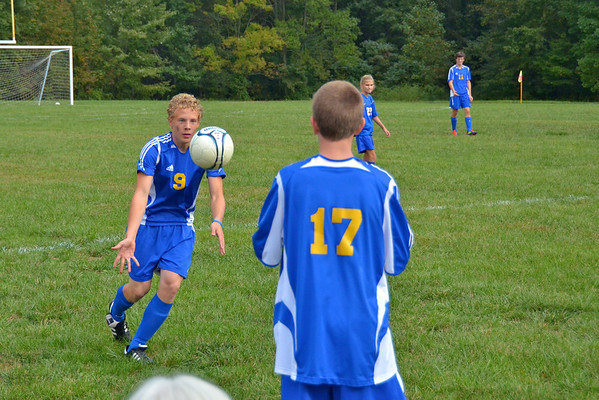CAI MS Soccer vs Scottsburg Sept 2011