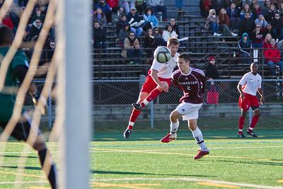 Joey Kewin kicking