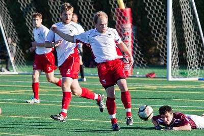 Sam McHugh kicking