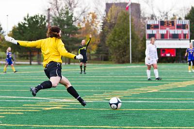 Rachel Bedek kicking