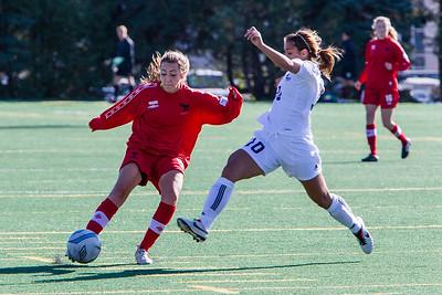 Tina Lacava kicking'
