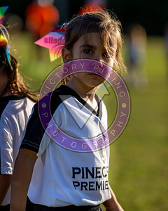 Pinecrest Premier Recreation game day.  Sep 27, 2019 at Evelyn Greer