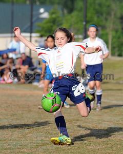 Kenzie Bonham #26 Cobb FC U-12 042812-43a