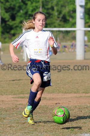 Kenzie Bonham #26 Cobb FC U-12 042812-132a