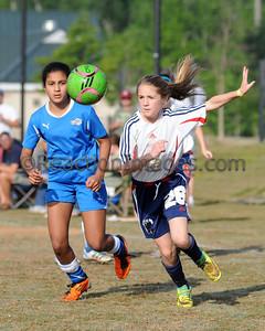 Kenzie Bonham #26 Cobb FC U-12 042812-39a
