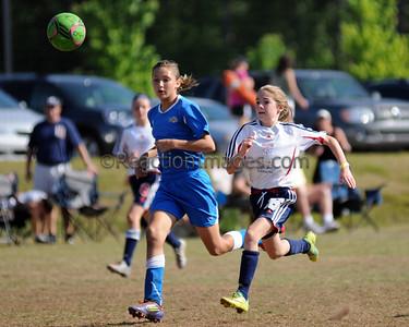 Kenzie Bonham #26 Cobb FC U-12 042812-156a
