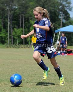 Kenzie Bonham #26 U-12 Cobb FC-050612-108a