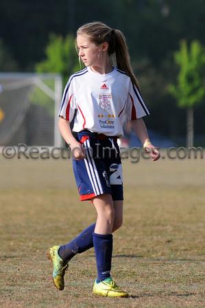 Kenzie Bonham #26 Cobb FC U-12 042812-24a