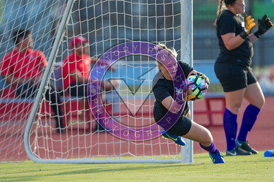 Pregame goal keeper warmup Women's Soccer University of Houston vs Southern Miss @ Carl Lewis Stadium September 8, 2017. Houston, TX USA