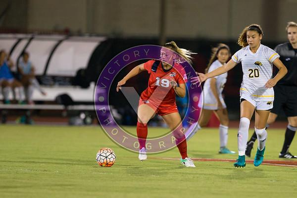 Women's Soccer University of Houston vs Southern Miss @ Carl Lewis Stadium September 8, 2017. Houston, TX USA