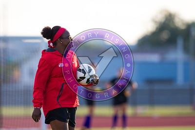 Danesha Adams pregame warm up Women's Soccer University of Houston vs Southern Miss @ Carl Lewis Stadium September 8, 2017. Houston, TX USA
