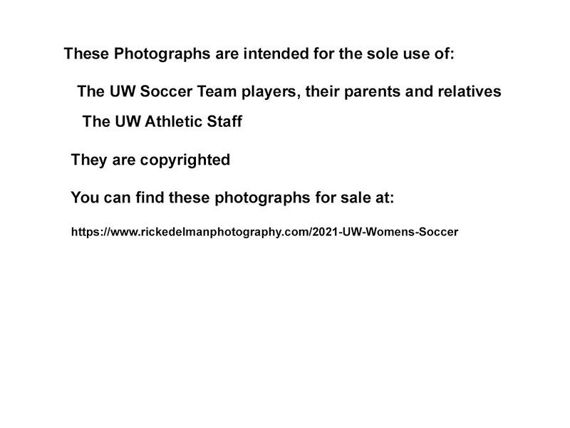 UW Soccer Warning
