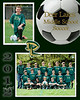 This is an 8x10 photo or memory mate. You can choose which pictures you would like in both top and bottom areas. Please put both pictures numbers beside Photo mate area on order form. If you do not choose which pictures number on your order form I will choose the individual picture and the team photo on this memory mate will be what you are given.
