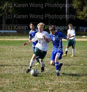 Boys Freshmen Soccer vs Scituate 9-12-17