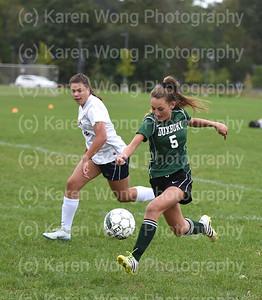 Freshmen Girls Soccer vs. NDA 9-24-18