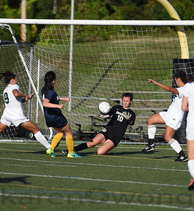 Girls Varsity vs. Hanover 9-26-17