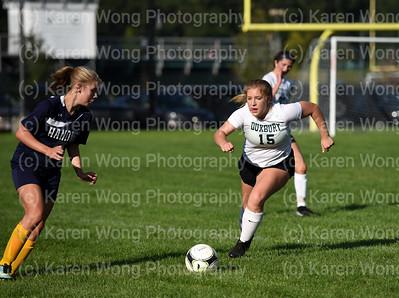 Girls JV Soccer vs. Hanover 9-26-17