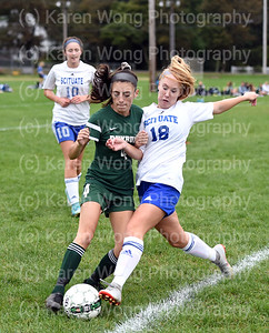 JV Girls Soccer vs. Scituate 10-3-18