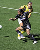 FC Gold Pride defeats Philadelphia Independence 4-0 to win the WPS Championship Match on September 26, 2010.