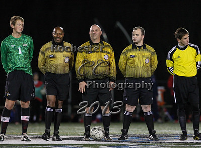 Joe Catalfamo, Kyle McCane, Referees