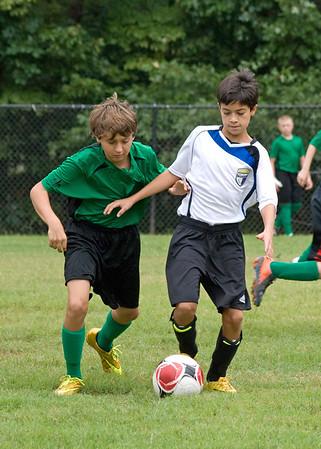 Fall soccer week 1