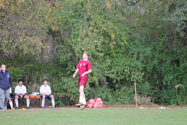Freshmen soccer vs AOF 10_23_13