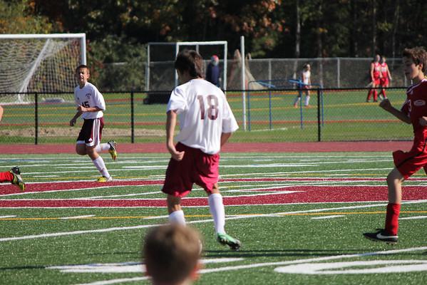 Freshmen soccer vs Northwest 10_19_13