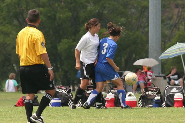 2007 LHGCL Game 0 vs TFC (rain out)