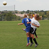 Kaitlin Foran goes up for a ball