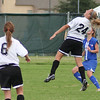 Kaitlin Foran goes up for the ball