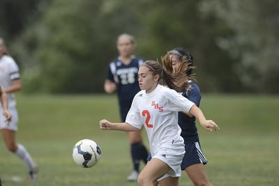 2016 Danville vs Mifflinburg Girls Soccer