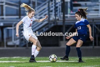 Girls Soccer: Briar Woods vs Stone Bridge 3.28.2019