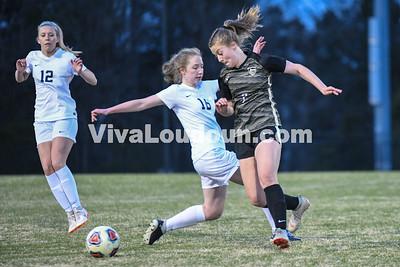 Girls Soccer: Stone Bridge vs Freedom 4.4.2019 (by Mike Walgren)