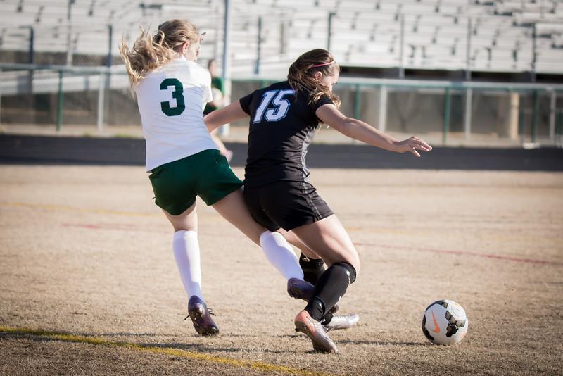 Hough Varsity Women's Soccer vs Independence-88