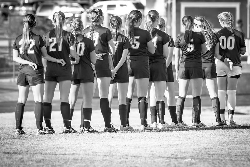 Hough Varsity Women's Soccer vs Independence-76