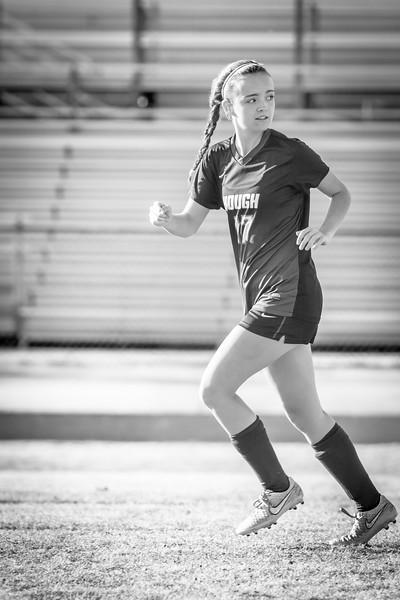Hough Varsity Women's Soccer vs Independence-84