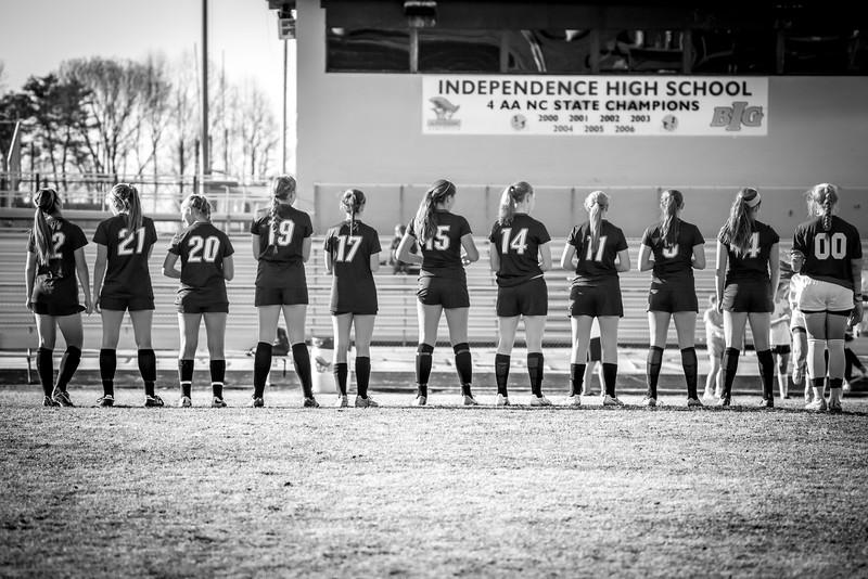 Hough Varsity Women's Soccer vs Independence-73