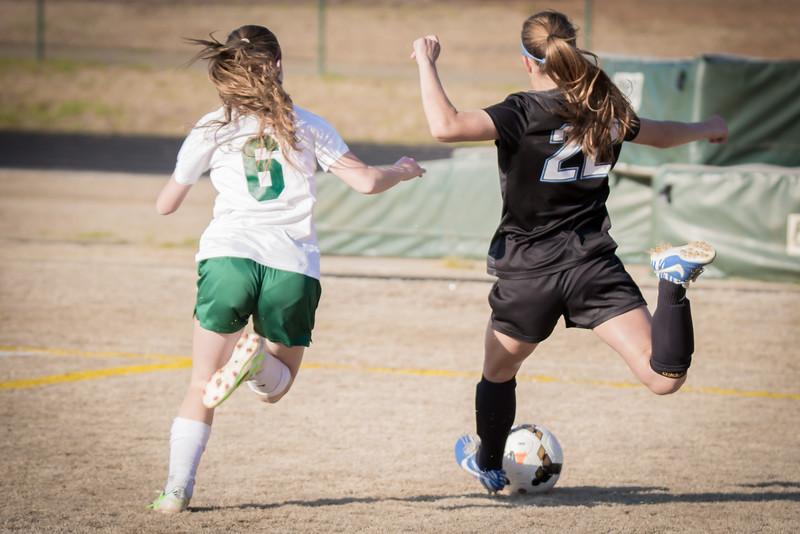 Hough Varsity Women's Soccer vs Independence-79