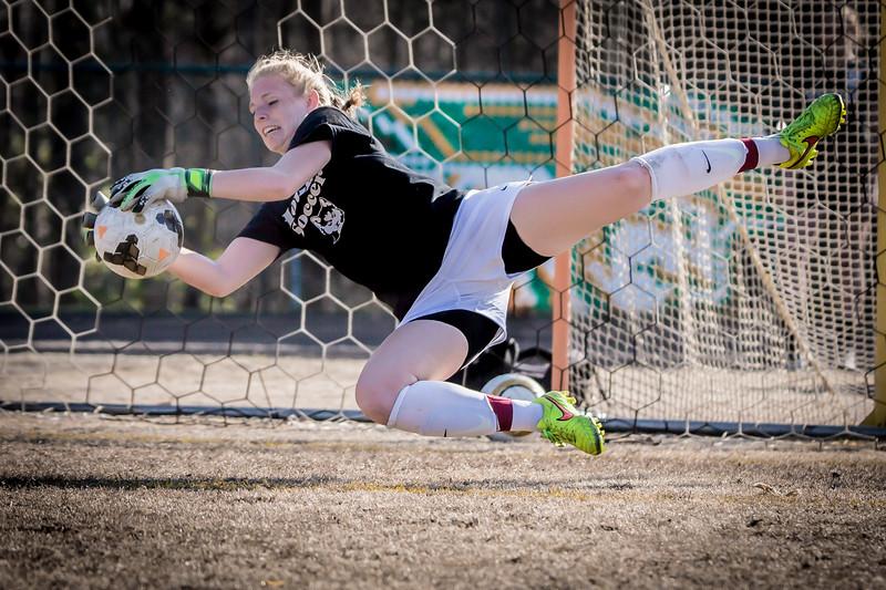Hough Varsity Women's Soccer vs Independence-53