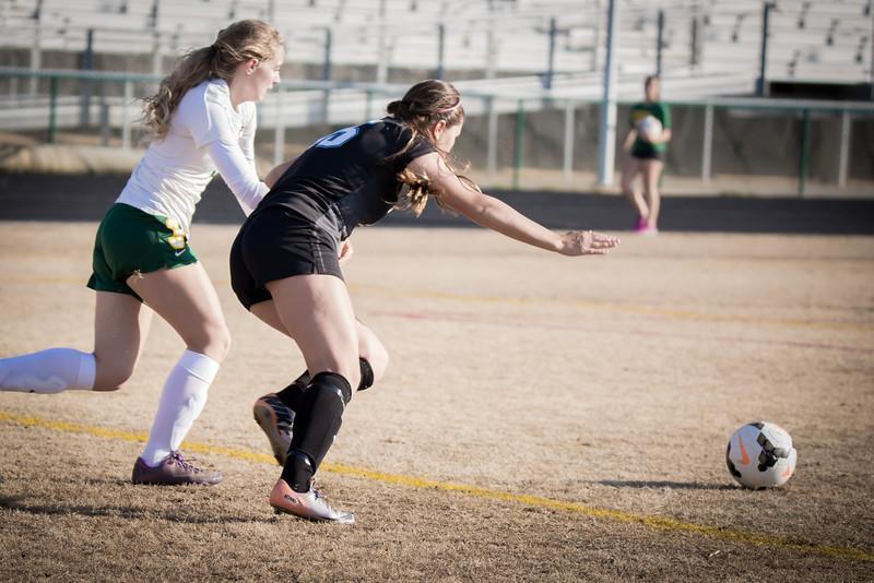 Hough Varsity Women's Soccer vs Independence-87