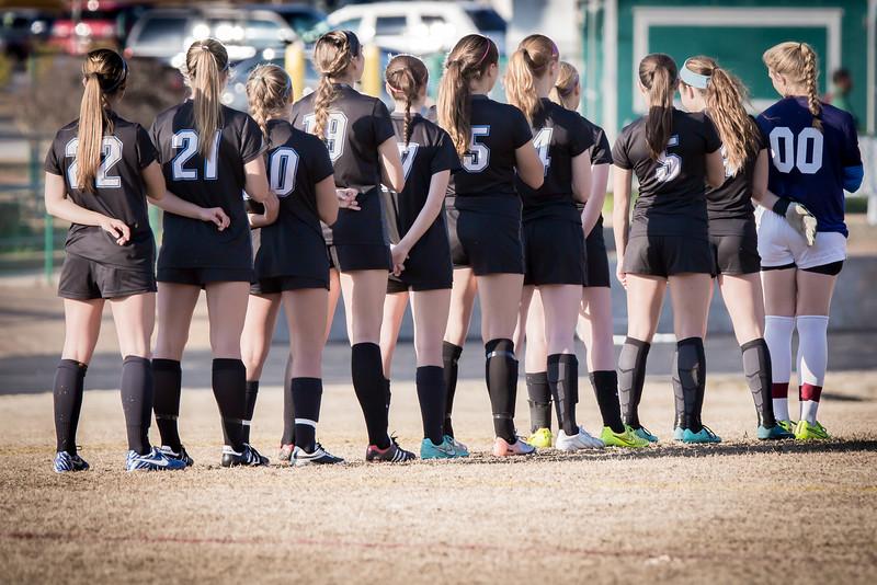 Hough Varsity Women's Soccer vs Independence-75