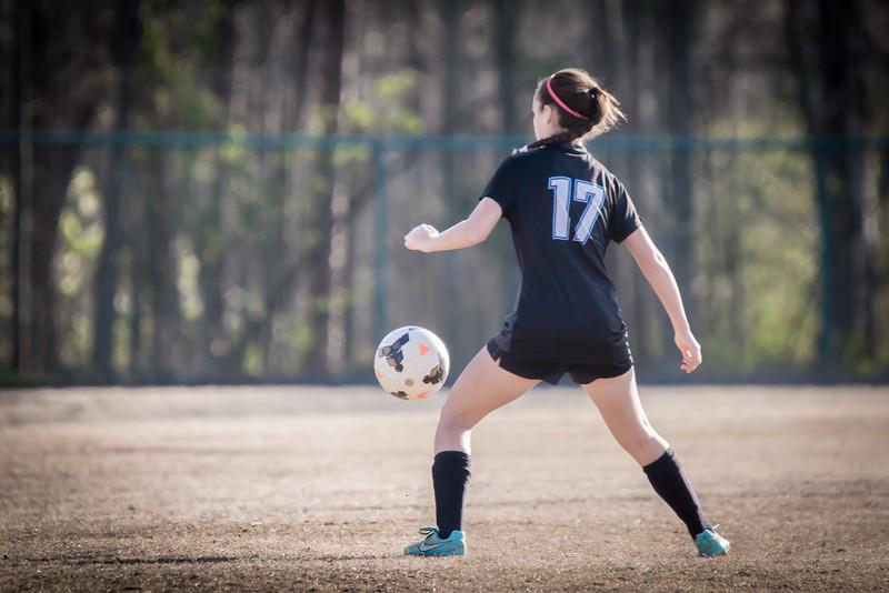 Hough Varsity Women's Soccer vs Independence-93