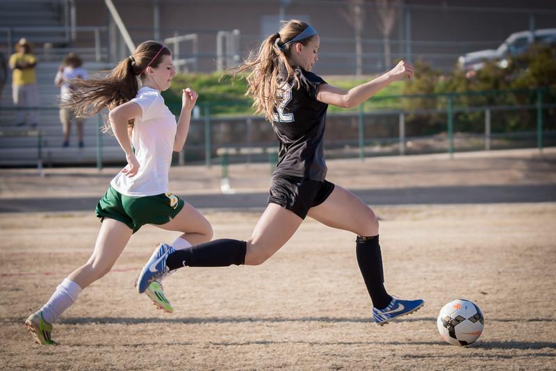 Hough Varsity Women's Soccer vs Independence-86