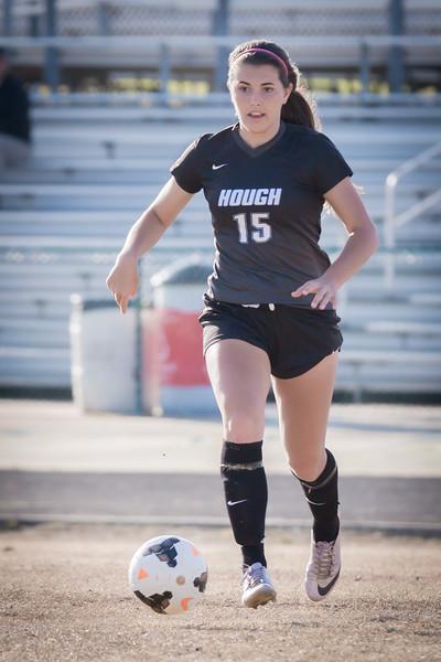 Hough Varsity Women's Soccer vs Independence-85