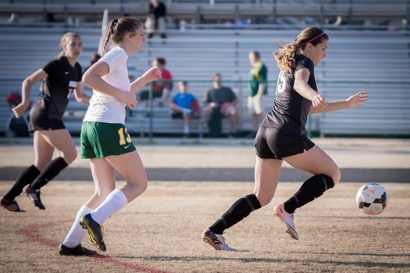 Hough Varsity Women's Soccer vs Independence-80