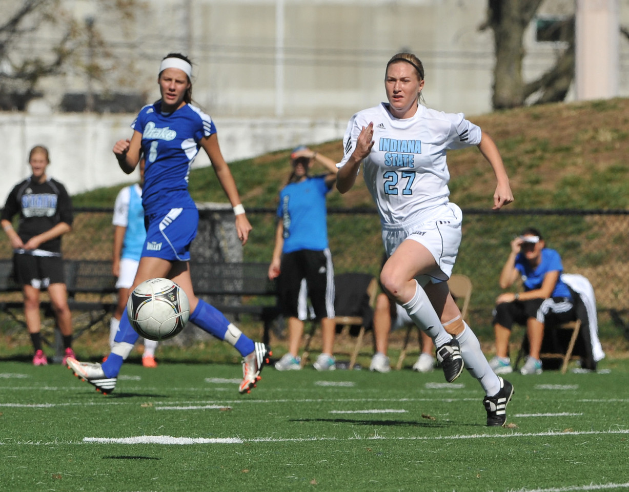 Indiana State faces the Drake Bulldogs in women's soccer at Memorial Stadium.