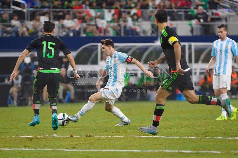 Mexico vs Argentina 2015