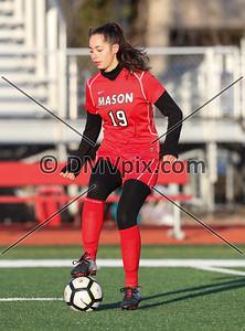 Justice @ Mason Girls JV Soccer (06 Mar 2019)